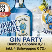 BOMBAY SAPHIRE GIN PARTY
