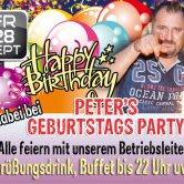 Peters Geburtstagsparty